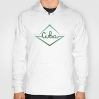 cuba Hoodies featuring Cuba by Zachary Perry