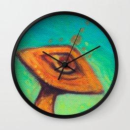Golden Teacher Wall Clock