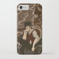the hound iPhone & iPod Cases featuring Hound by Ellen Fox