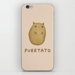 Purrtato iPhone Skin