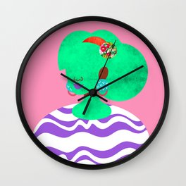 Earrings No. 3 Wall Clock