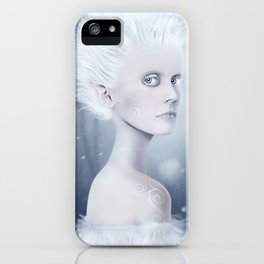 The Spirit of Winter iPhone Case