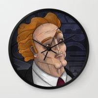 hercules Wall Clocks featuring 21st Century's Hercules by Gülce Baycık