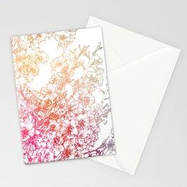 Sakura II Stationery Cards