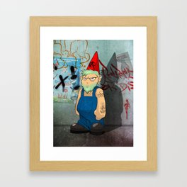 The Urban Gnome Framed Art Print