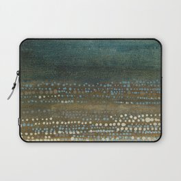 Landscape Dots - Night Laptop Sleeve