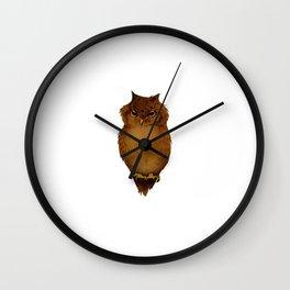 Joana's Owl Wall Clock