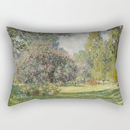 Landscape: The Parc Monceau Rectangular Pillow