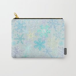 icy snowflakes Carry-All Pouch