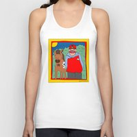 blackhawks Tank Tops featuring Sooner by GOONS