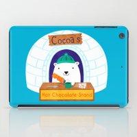 polar bear iPad Cases featuring Polar Bear by Claire Lordon
