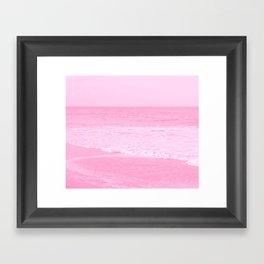 Pink Delight Framed Art Print