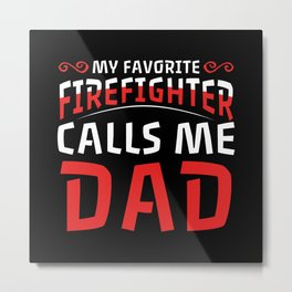 DAD Metal Print