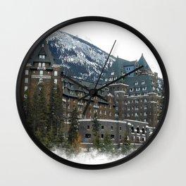 Rocky Mountain Living - Banff Resort Wall Clock