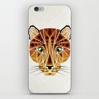 leopard iPhone & iPod Skins featuring leopard by Manoou