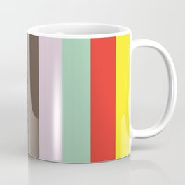 VOCABULARY Abstract Pattern Coffee Mug