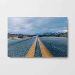 The Road (Color) Metal Print