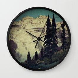 The Pending Storm at Hike Wall Clock