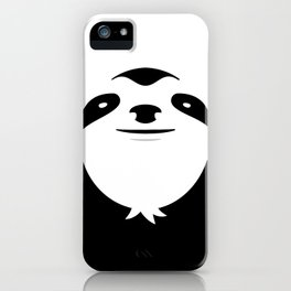 The Majestic Sloth iPhone Case