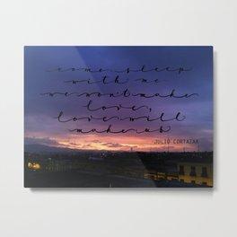 Love will make us, Cortazar Metal Print