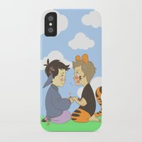 destiel iPhone & iPod Cases featuring WTP! Destiel by psych0tastic