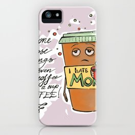 Monday Coffee iPhone Case