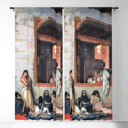 12,000pixel-500dpi - Jean-Leon Gerome - The Slave Market - Digital Remastered Edition Blackout Curtain