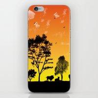 safari iPhone & iPod Skins featuring Safari by Kaitlynn Marie
