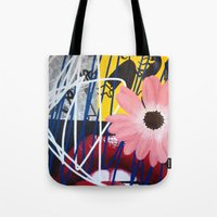 rocky horror Tote Bags featuring ROCKY HORROR by Brandon Neher