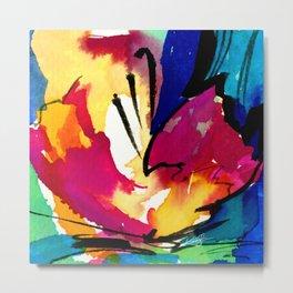 Soul Flower No. 20 by Kathy Morton Stanion Metal Print