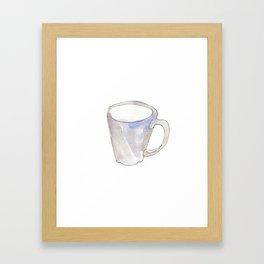 café Framed Art Print