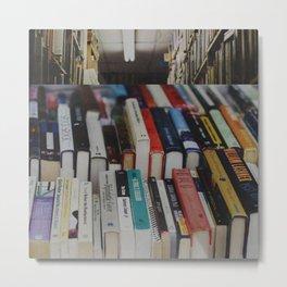 books on books Metal Print