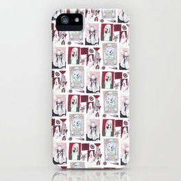 Red, White and Bait iPhone Case
