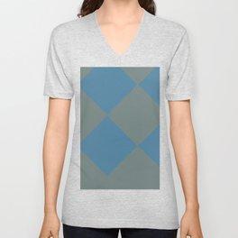 Caro Abstract Unisex V-Neck