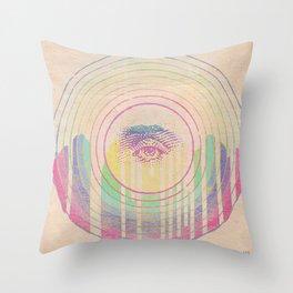 inner vision Throw Pillow