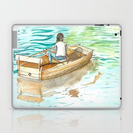 Drifting away Laptop & iPad Skin
