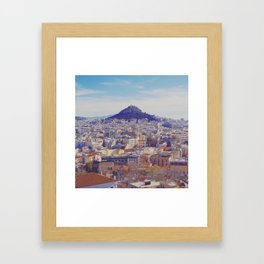 Above the City Framed Art Print