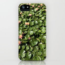 sea of leaves (title by Meg) iPhone Case