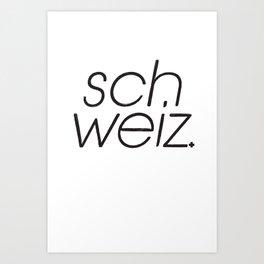 SCH Art Print