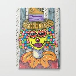Clown Metal Print