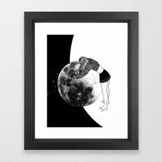 Waiting For The Night Framed Art Print