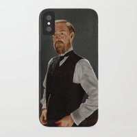 moriarty iPhone & iPod Cases featuring Moriarty lives by San Fernandez