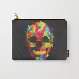 Meduzzle: Colorful Geometry Skull Carry-All Pouch