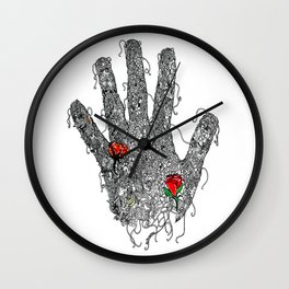Gifted Hands Wall Clock