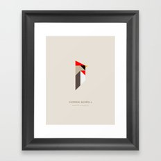 Common Redpoll Framed Art Print