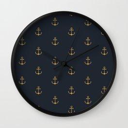 Αnchor CV I Wall Clock