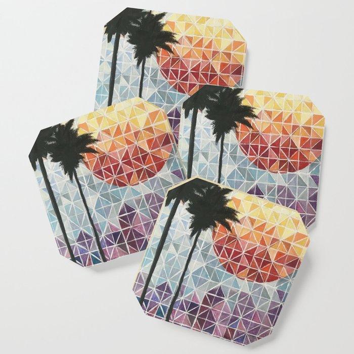 Isosceles Sunset Coaster