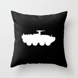 M1126 Stryker Throw Pillow
