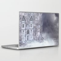 castle Laptop & iPad Skins featuring Castle by Simone Gatterwe