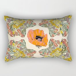 The Universal language of flowers Rectangular Pillow